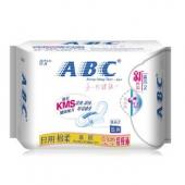 ABC 日用超极薄棉柔排湿表层卫生巾8片