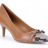 COACH 蔻驰 女士真皮浅口中跟鞋 新低$54.99 到手¥475