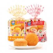 限地区: 达利园糕点注心蛋黄派+草莓派250g*2包  折5.44元包邮(双重优惠)