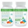 SmartyPants Gummy Vitamins鱼油纤维软糖120粒2瓶