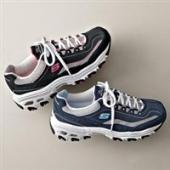 Prime会员专享:Skechers斯凯奇D Lites Centennial女士时尚运动休闲鞋 蓝色
