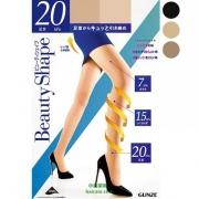 GUNZE 郡是 BeautyShape 提臀加压连裤丝袜*4双 ¥143.24含税包邮(¥272-144)