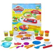 Play-Doh 培乐多 创意厨房系列 B9014 嗞嗞炉灶套装+凑单品