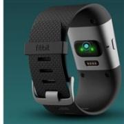 Fitbit Charge HR 智能手环 L号 黑色