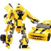 xinlexin 变形机器人益智拼装玩具 225片