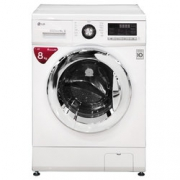 LG WD-T12412DG 变频节能滚筒洗衣机 8公斤    1999元包邮¥1999.00
