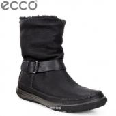 ECCO 爱步 追求 II 女士防水真皮靴 4折$80 到手¥680