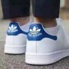 阿迪达斯经典蓝尾鞋终于到货了,这款鞋真的太火爆了!!!Adidas阿迪达斯 Stan Smith 蓝尾鞋,Adidas史密斯绿尾好看还是蓝尾?绿尾和蓝尾买哪个?