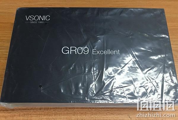 威索尼可GR09耳机开箱评测