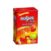 sugus 瑞士糖 混合水果味 550g 罐装 17.45元(39.9元,2件5折+用券)