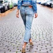 Levi's 李维斯 女士501系列破洞牛仔裤