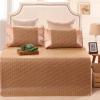 红瑞 床品家纺 精品御藤凉席子三件套 休闲风格 1.8米床 49元包邮(99-50)¥49.00