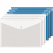 Truecolor真彩 透明文件袋*10+中性笔*12 7.8元包邮(12.8-5)