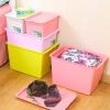 沃之沃 居家塑料整理盒收纳箱 4件套 安全环保¥39