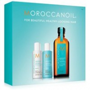 Moroccanoil摩洛哥油修复洗护3件套(洗发露70ml+修复护发素70ml+护发油100ml)