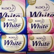 Kao花王 White纯植物提取花香香皂 6块 蓝色款