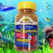 Nature's Way 佳思敏 Omega-3儿童鱼油咀嚼软糖 60粒*2瓶