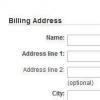 Billing Address是什么意思?