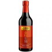 李锦记 金标生抽 一级酿造酱油 500ml 折5.11元(7.3,3件75折)