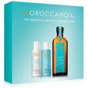 Moroccanoil摩洛哥油修复洗护3件套(洗发露70ml+护发素70ml+护发油100ml)