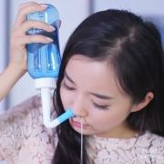 Waterpulse 健适宝 洗鼻器套装(洗鼻壶+2喷头+10包盐)