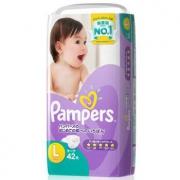 Pampers 帮宝适 特级棉柔系列 紫帮 纸尿裤 L42片 *7件