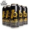 泰山 原浆黑啤酒 490ml*6听装29.8元包邮