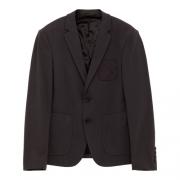 美特斯邦威 男式针织西装外套 224063