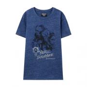 美特斯邦威 暴雪魔兽联名 男子夏季T恤