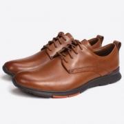Clarks 其乐 Tynamo Walk  男士真皮商务休闲鞋 Prime会员免费直邮含税