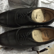 Clarks 其乐 Men's Coling Boss Brogue 男士正装鞋开箱