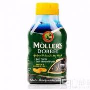 北欧销量第一,Mollers 沐乐思 挪威进口 深海鱼油软胶囊 112粒*2瓶