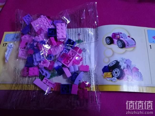 LEGO 乐高10702 创意拼砌套装开箱体验