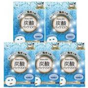 Cotton labo碳酸炭酸保湿补水抗氧化面膜 3枚入×5