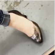 Ecco爱步Alicante女士阿丽特真皮隔断高跟鞋