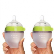 Comotomo可么多么硅胶母乳实感奶瓶150ml*2个装