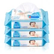 Johnson 强生 婴儿手口湿巾 80片x3包