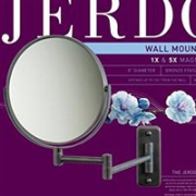 白菜!Jerdon 5倍放大 8英寸双面壁挂式化妆镜