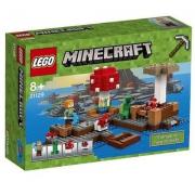 LEGO 乐高 21129 我的世界系列 蘑菇岛  Prime会员凑单免费直邮