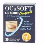 OCuSOFT 眼部清洁卸妆湿巾30片 Prime会员凑单免费直邮