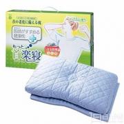 Nishikawa 西川 首乐寝 荞麦壳健康护颈枕 蓝色高版 国内¥748 Prime会员免费直邮含税