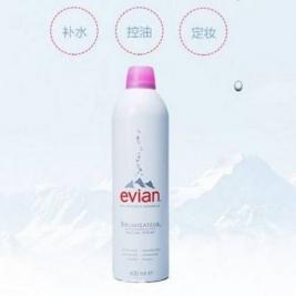 Evian 依云 天然矿泉水喷雾 400ml*2瓶