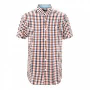 美特斯邦威 男子夏季格子衬衫