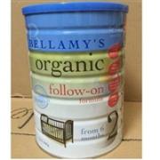 Bellamy's 贝拉米 有机婴幼儿配方奶粉(2段) 6-12个月 900g