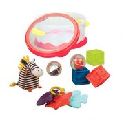 B.Toys  宝宝游戏时间玩具套装 带收纳盒