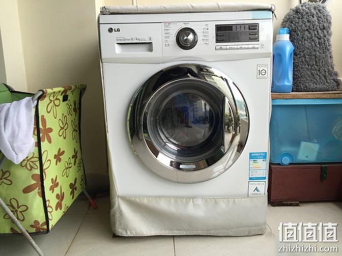 LG WD-A12411D 自动滚筒洗衣机使用感受
