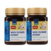蜜纽康(Manuka Health)金冠 野花蜜 455g*2罐