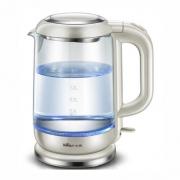小熊 ZDH-A15G2 高硼玻璃电热水壶1.5L