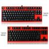分享我的红色法拉利跑车:GANSS 高斯 GK87 机械键盘