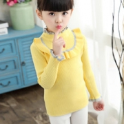 甜美小淑女!摩卡贝蒂 秋冬韩版宝宝针织衫   29元包邮(39-10)